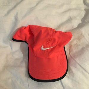 Nike hot pink running Dri-Fit Hat